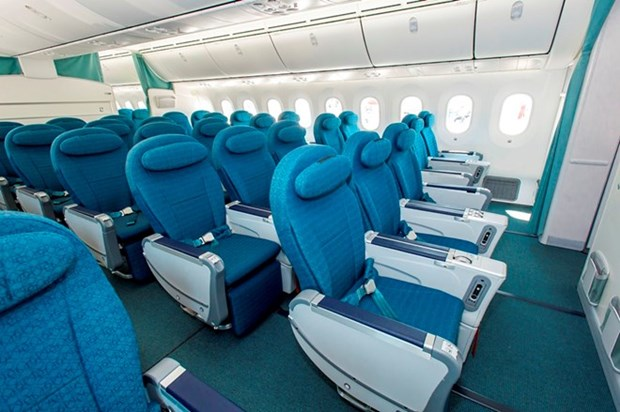 Skytrax lists Vietnam Airlines in top 20 with best premium economy class hinh anh 1