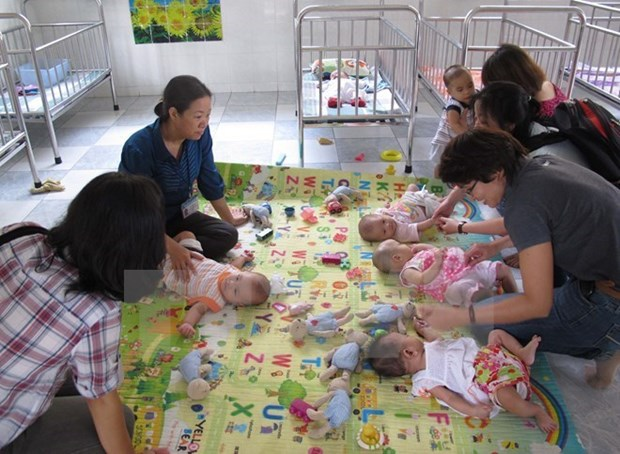 Yen Bai works to care for HIV/AIDS-affected children hinh anh 1