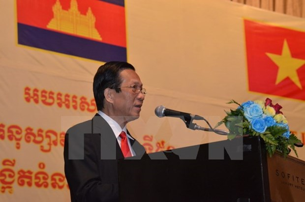 Banquet held to mark 50th anniversary of VN-Cambodia ties hinh anh 1