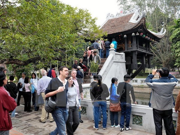Hanoi's six-month tourism rakes in 1.54 billion USD hinh anh 1