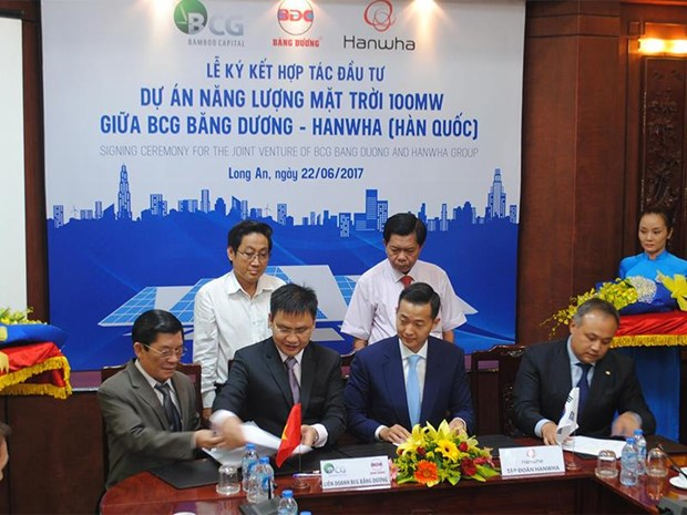 100-million USD solar power plant to be built in Long An hinh anh 1