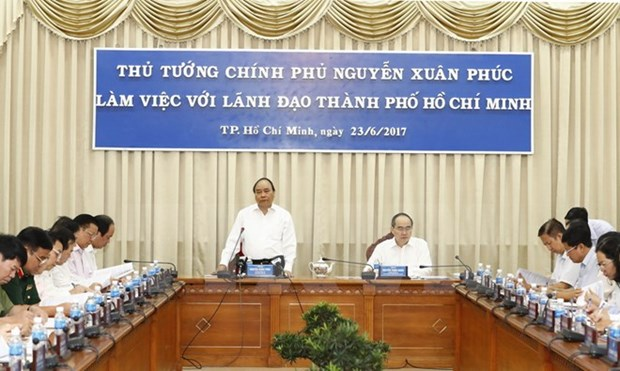 PM urges HCM City to create favourable start-up environment hinh anh 1