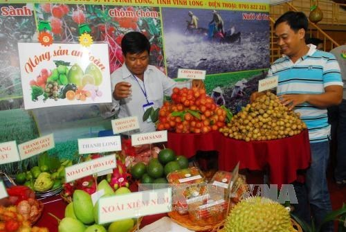 First agricultural trade fair opens in An Giang hinh anh 1