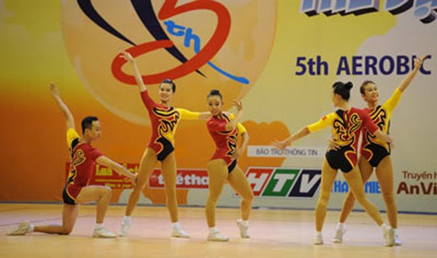 Foreign aerobics coaches receive training in Hanoi hinh anh 1