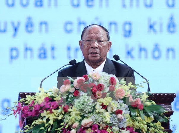 Cambodia NA President's speech at ceremony celebrating Vietnam-Cambodia ties hinh anh 1