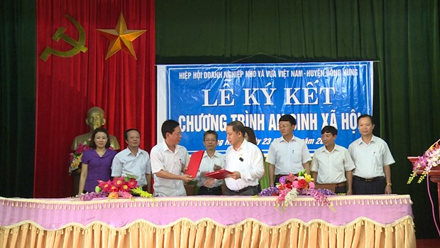 SMEs assist disadvantaged households in Thai Binh province hinh anh 1
