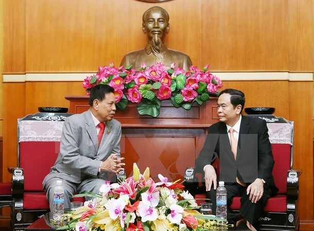 Vietnam, Cambodia foster front cooperation hinh anh 1