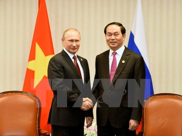 President gives interview to Russian, Belarusian press ahead of visit hinh anh 1