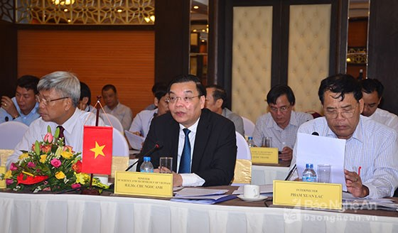 Vietnam-Laos science, technology cooperation committee meets hinh anh 1