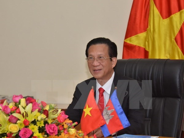 Vietnam-Cambodia relations grow in all fields: Ambassador hinh anh 1