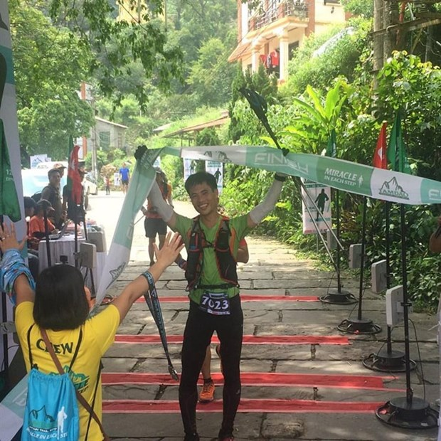 Malaysian wins Tam Dao Mountain Trail hinh anh 1