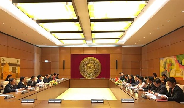 Vietnam, Laos intensify judicial ties hinh anh 1