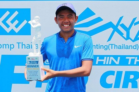 Vietnamese player Ly Hoang Nam wins Thailand F3 Futures hinh anh 1