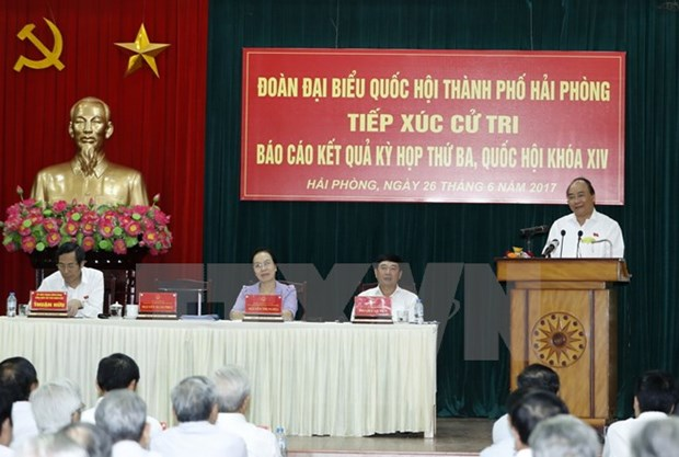 PM pledges actions to build facilitating Government to voters hinh anh 1