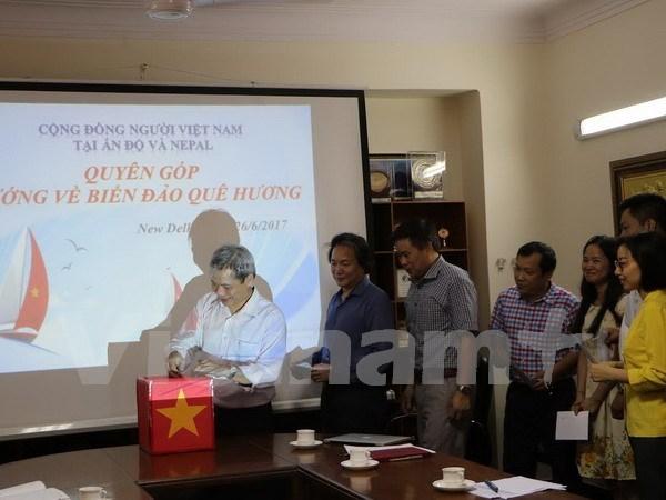 Vietnamese in India, Nepal look towards homeland's sea, islands hinh anh 1