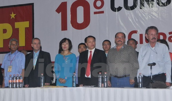 CPV delegation attends Mexican Labour Party's congress hinh anh 1