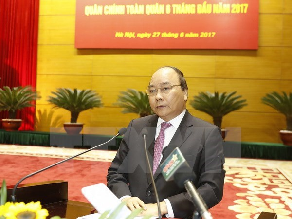 Political-military conference lays out tasks for army hinh anh 1