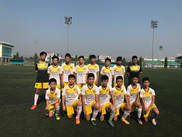 Hanoi U13 Club to compete in Gothia Cup in Sweden hinh anh 1
