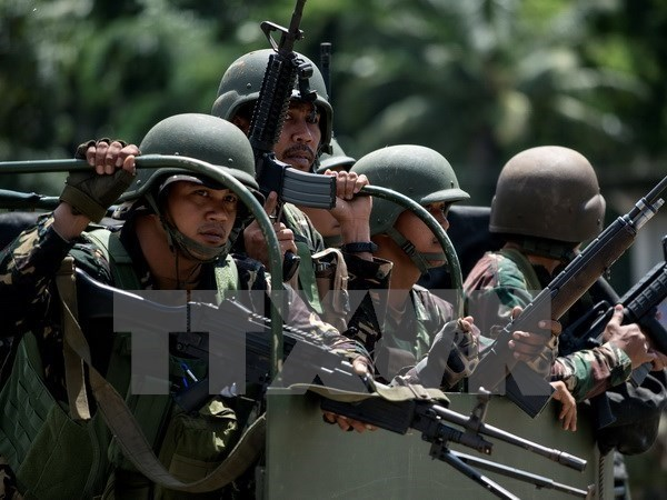 Philippines says no negotiation with Islamic militant groups hinh anh 1