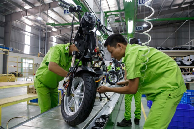 Electric vehicle production complex to be built in Hanoi hinh anh 1