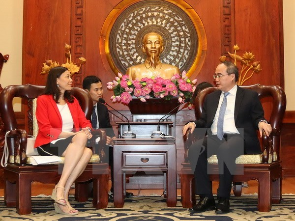 HCM City, Intel Group boost cooperation in human resource training hinh anh 1