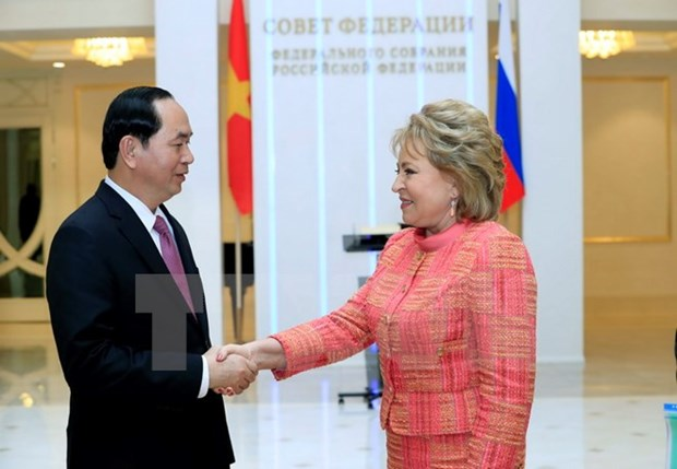 President: Vietnam prioritises developing relations with Russia hinh anh 1