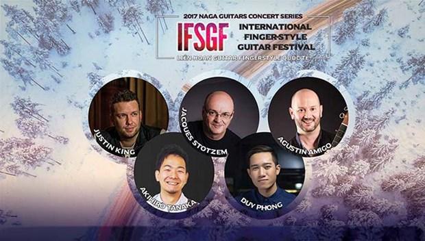 Vietnam hosts international finger-style guitar festival hinh anh 1