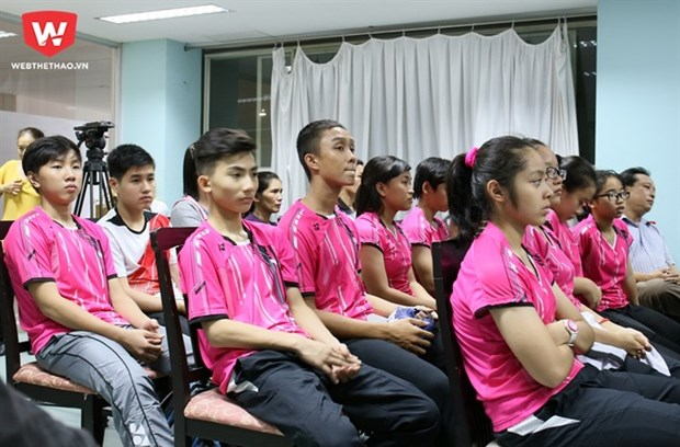 Professional training for badminton players in Thailand hinh anh 1