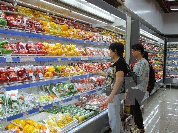 CPI up 4.15 percent in six months hinh anh 1