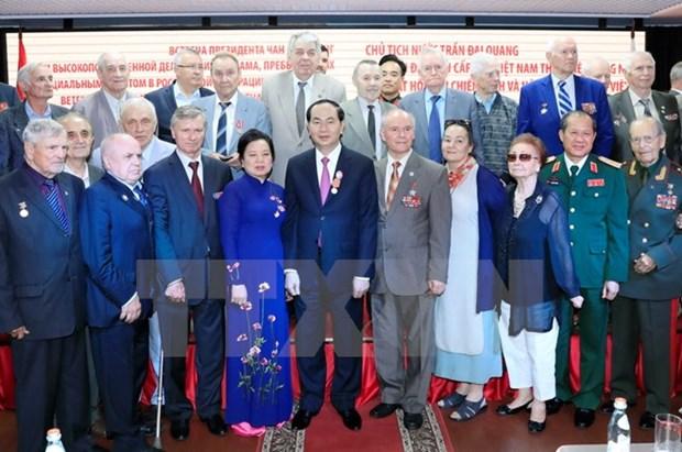 President Tran Dai Quang appreciates Russia support to Vietnam hinh anh 1