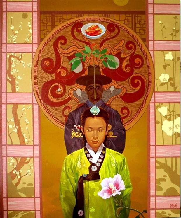 Korean-Vietnamese art contest names winners hinh anh 1