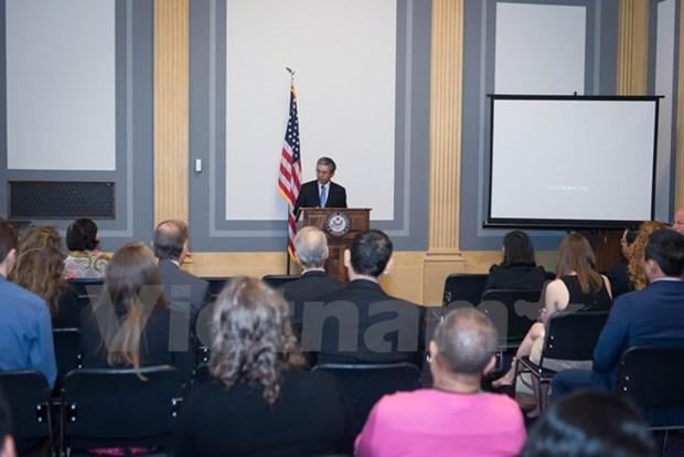 Documentary on Vietnamese AO victim screened at US Senate hinh anh 1