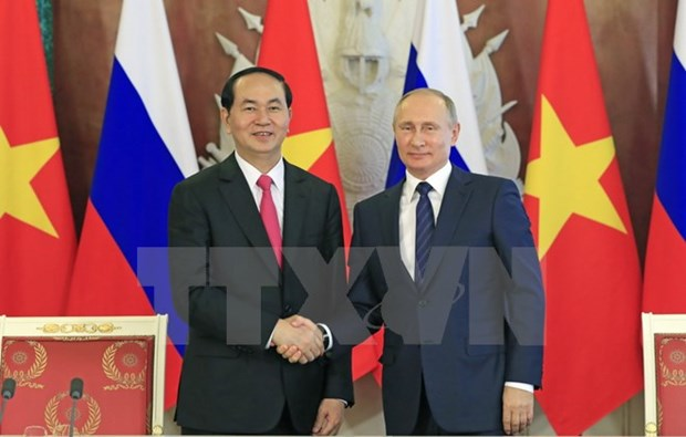 Vietnam, Russia issue joint statement hinh anh 1