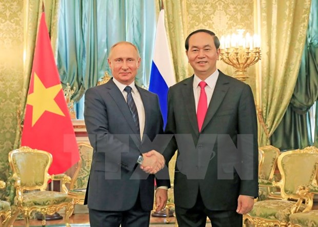Quang, Putin agree on 10 billion USD in bilateral investment hinh anh 1