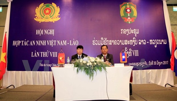 Vietnam, Laos work to boost security cooperation hinh anh 1