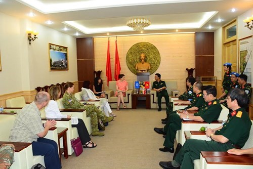 UN puts trust in Vietnamese peace-keeping forces hinh anh 1