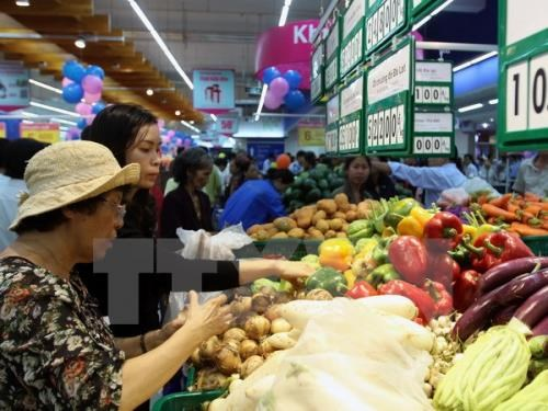 Hanoi's CPI in June continues to drop hinh anh 1