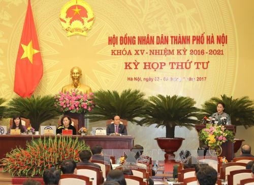 Hanoi exerts efforts to complete socio-economic tasks in H2 hinh anh 1