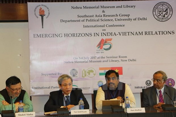 Int'l seminar celebrates Vietnam-India diplomatic ties hinh anh 1