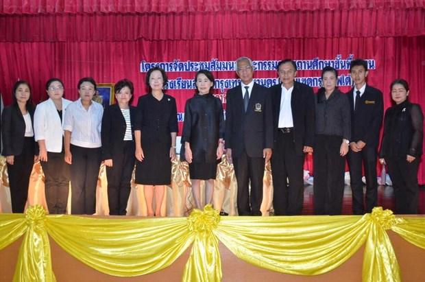 Bangkok schools transform themselves into bilingual schools hinh anh 1