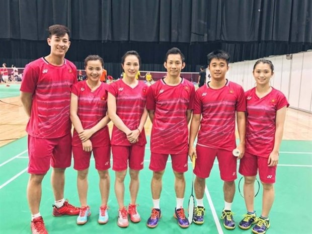 Young badminton players improve world rankings hinh anh 1