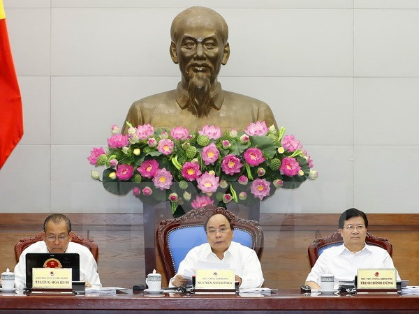 Cabinet members deliberate institutional building hinh anh 1