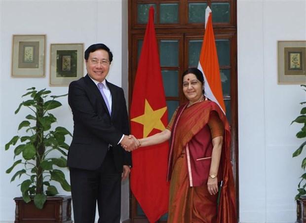 Deputy PM, FM Pham Binh Minh visits India hinh anh 1