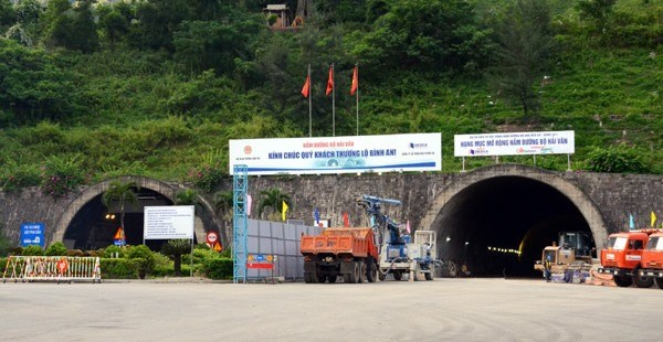Hai Van tunnel to be closed daily hinh anh 1