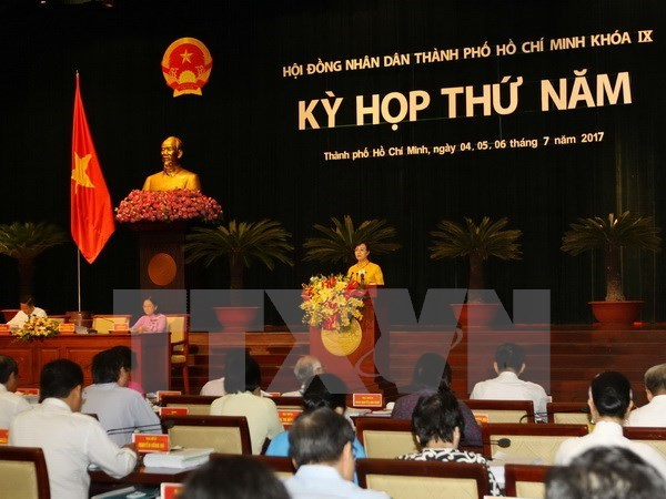 Growth quality in focus at HCM City People's Council session hinh anh 1