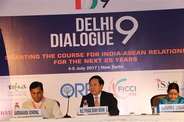 Vietnam attends ninth Delhi Dialogue hinh anh 1