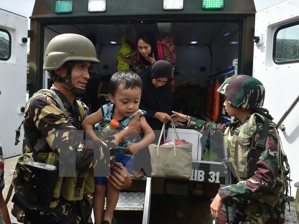 Philippines: Suspected Maute financiers, supporters arrested hinh anh 1