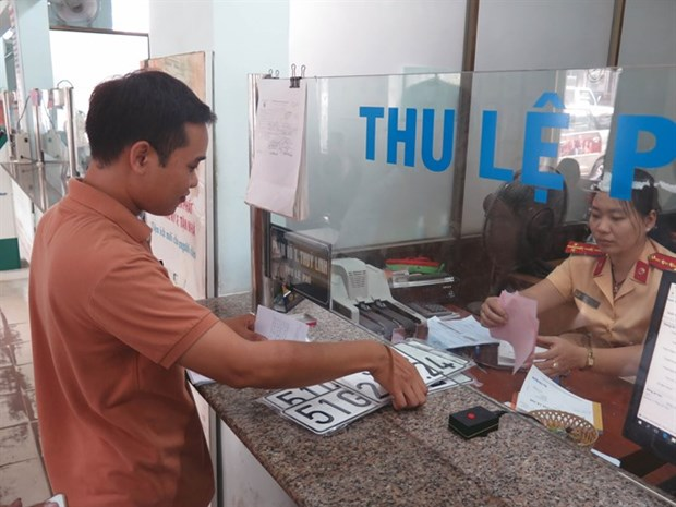 Vehicle registration plates to be sold via auctions hinh anh 1