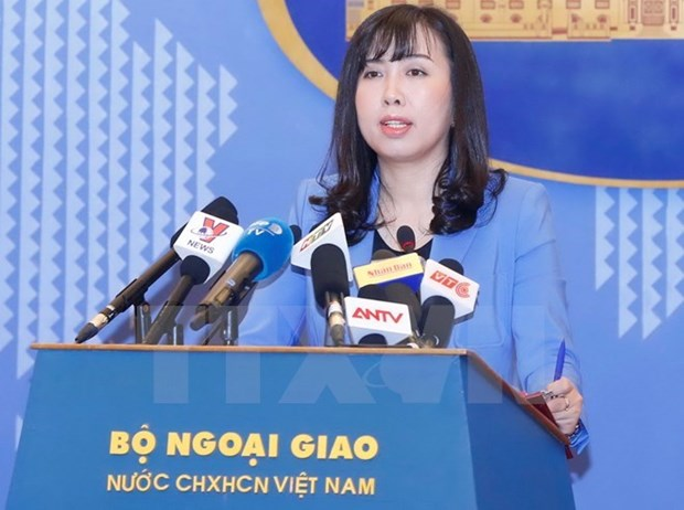Spokeswoman: Vietnam concerned about DPRK's missile launch hinh anh 1