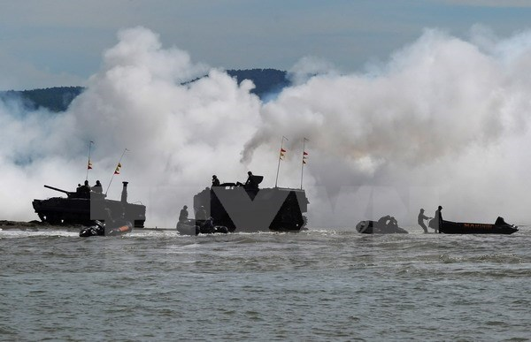 Indonesia, US hold joint naval exercise hinh anh 1